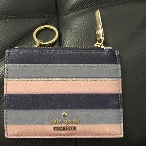 Kate spade cards and change pouch